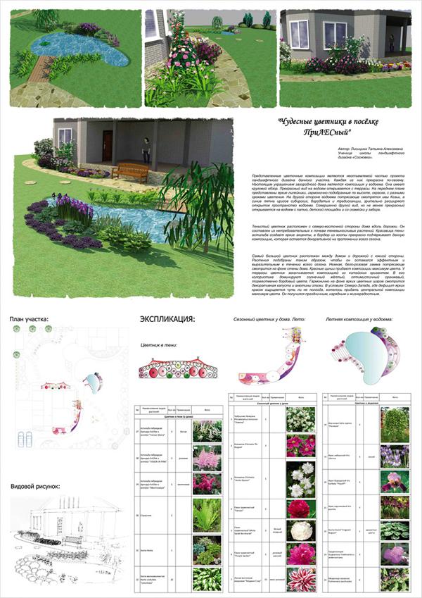 Курсы ландшафтного дизайна сосновка